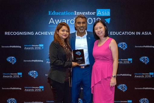 EducationInvestor Asia Awards Curriculum